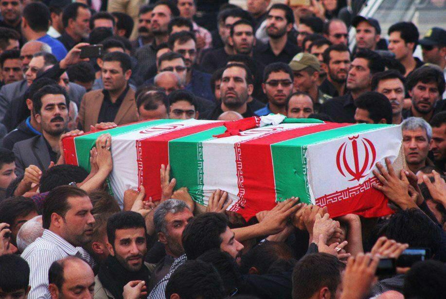 Image result for تشییع پیکر جانباختگان قطار در تبریز
