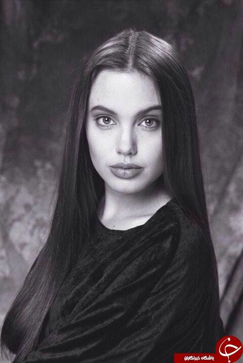 عکس آنجلینا جولی در نوجوانی
