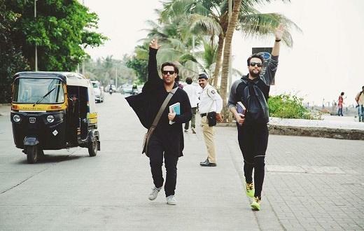 بنیامین بهادری و محمدرضا گلزار در «سلام بمبئی»