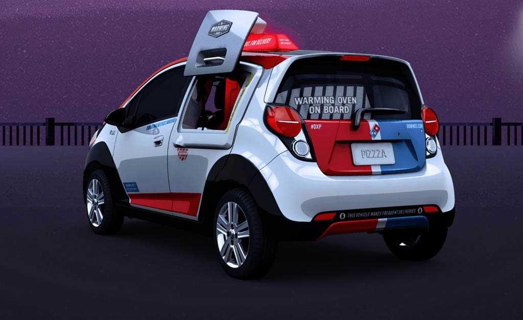 خودرو مخصوص تحویل پیتزا + عکس
