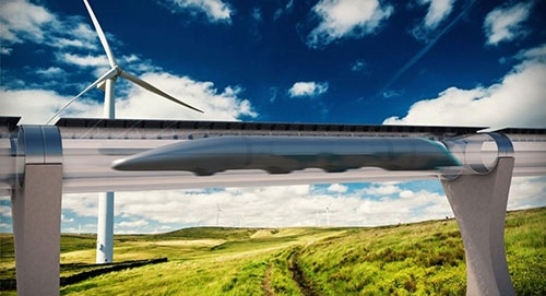 تست آزمایشی هایپرلوپ قطاری با ۱۲۰۰ کیلومتر