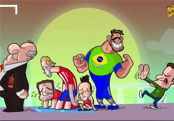 کاریکاتور/ آقای سرمربی اشک این ۴ ستاره را درآورد!
