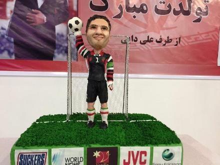 کیک عابدزاده