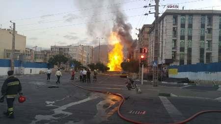 16 6 17 8581382115410 70801632 - انفجار مهیب در تونل مترو در فلکه اول شهران