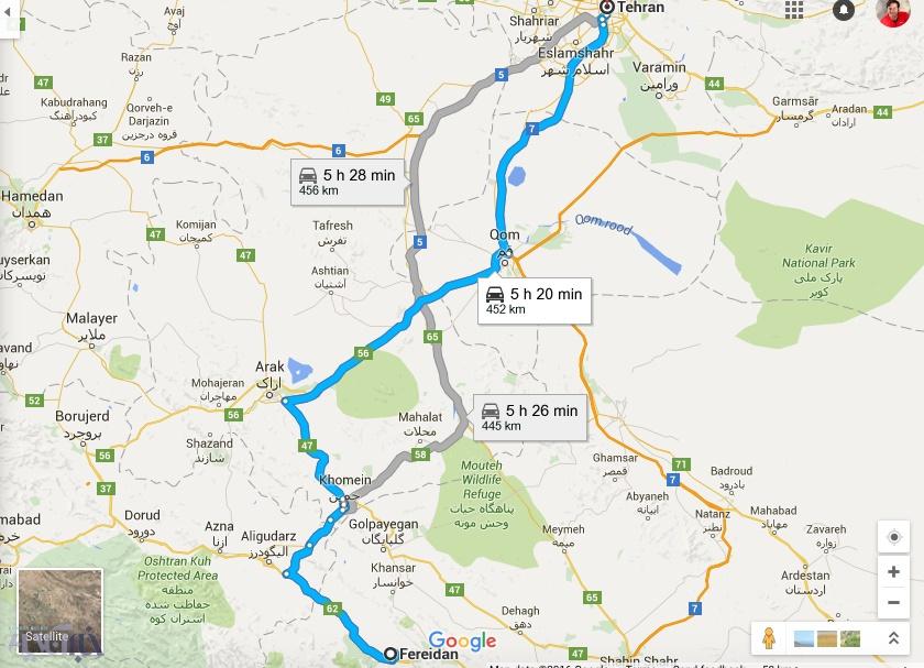 برای مسافرت به جز شمال کجا رو پیشنهاد میدید که نزدیک باشه به تهران؟