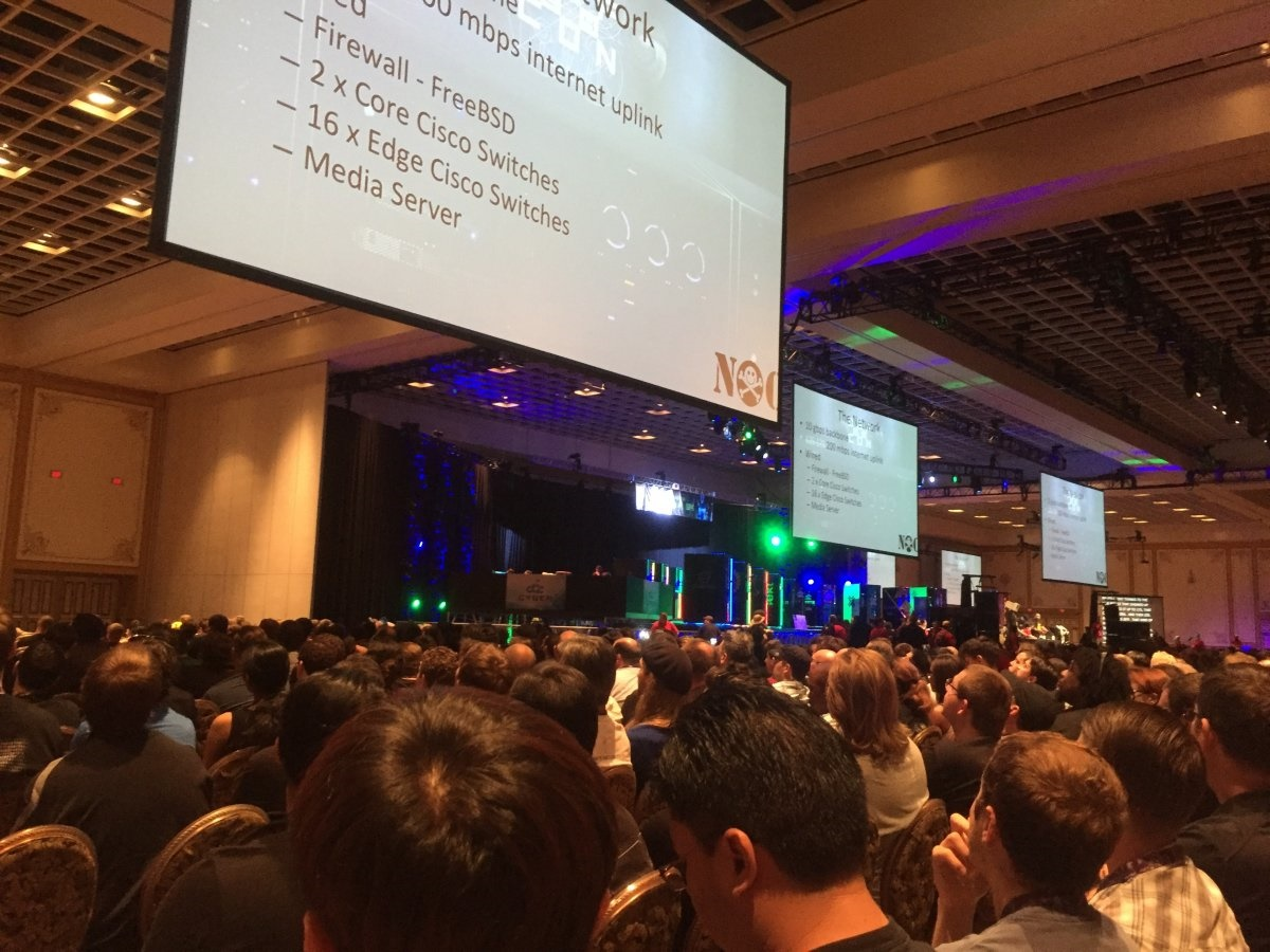 اجتماع دیدنی 20 هزار هکر در لاسوگاس