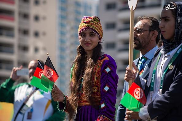 16 8 2 1122572 - عکس | لباس دختر افغان سوژه عکاسان المپیک