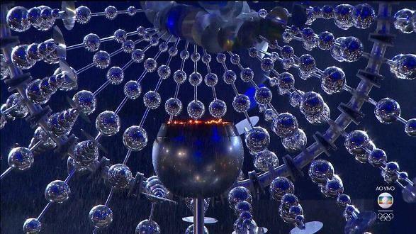 تصویری از مشعل المپیک که در ریو خاموش شد