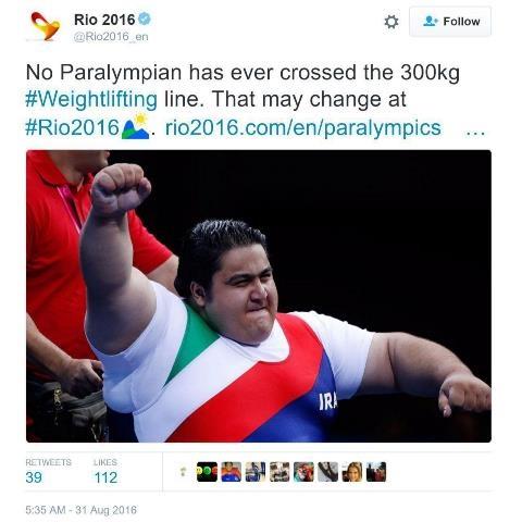 انتظار یک رکود تاریخی؛ این ایرانی 300 کیلو وزنه می زند