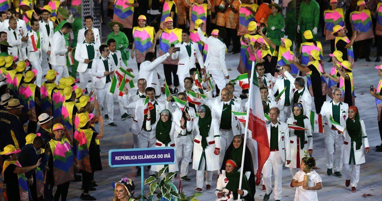نظر شما درباره این عکس چیست؟/رژه کاروان المپیک ایران