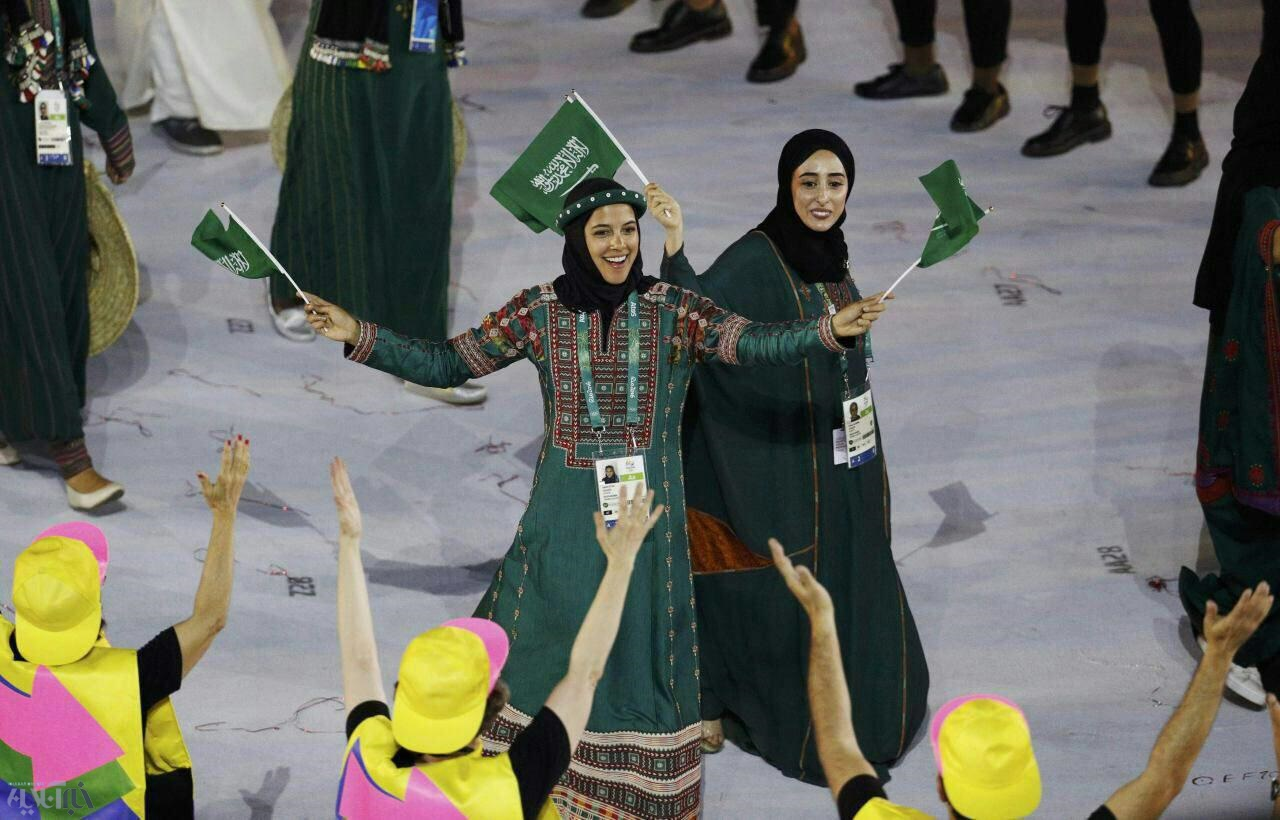 رژه عربستان در المپیک