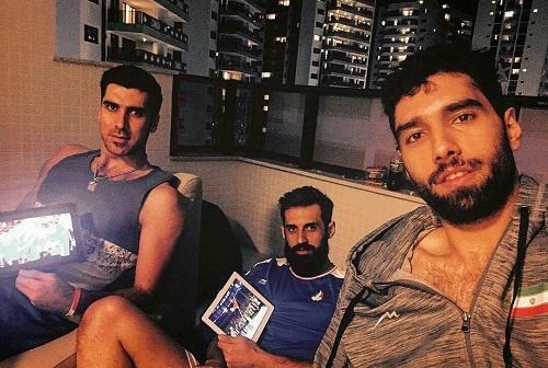 اولین قهر در المپیک ریو به نام معروف ، موسوی و محمودی ثبت شد!