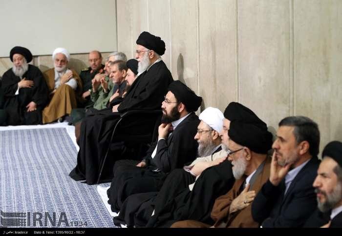 گزارش تصویری, هاشمی رفسنجانی, بزرگداشت هاشمی رفسنجانی, احمدی نژاد