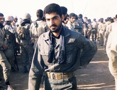 عکس| سردار حاج قاسم سلیمانی در روزهای جنگ و جوانی