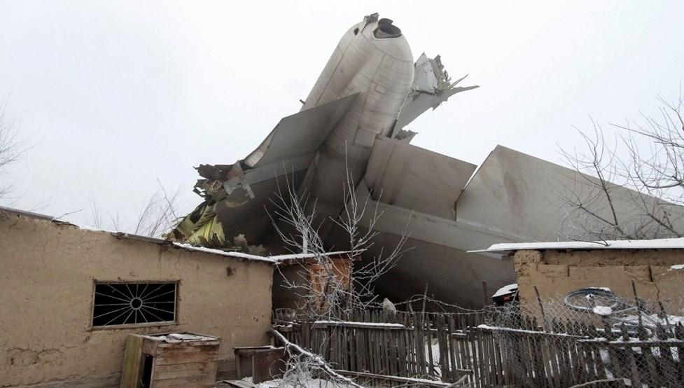 سقوط مرگبار هواپیمای ترکیه بر فراز منطقه مسکونی