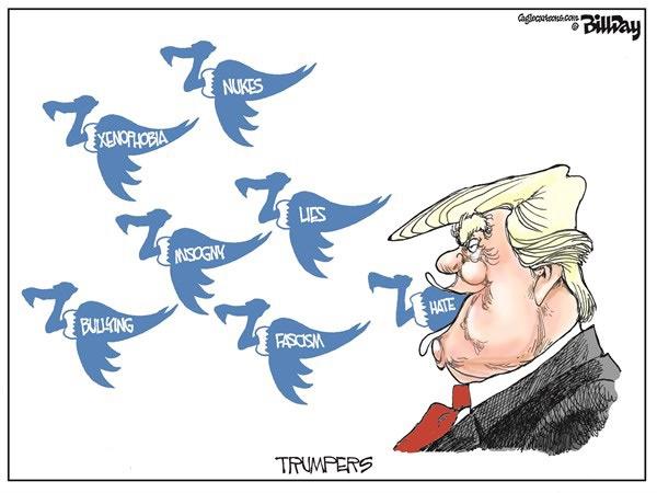 کرکس؛ نمادی برای توئیتهای تازه ترامپ