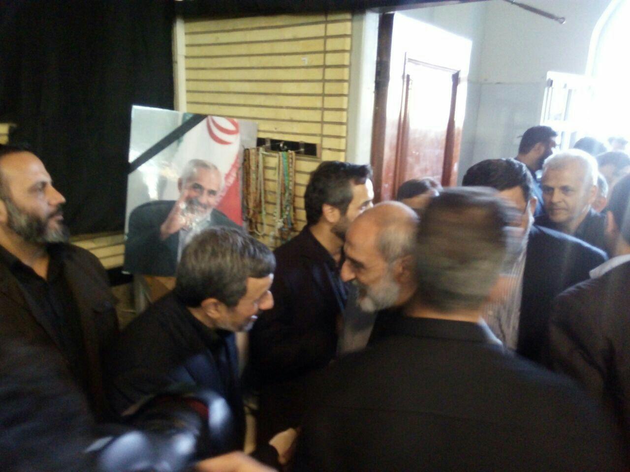 داود احمدینژاد,محمود احمدی نژاد