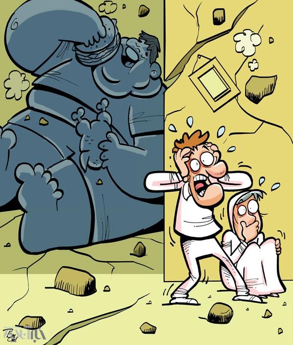 خطر انفجار در راه است!             ,