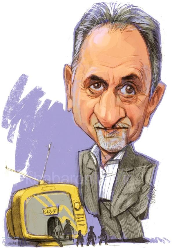 محمدعلی نجفی,کاریکاتور