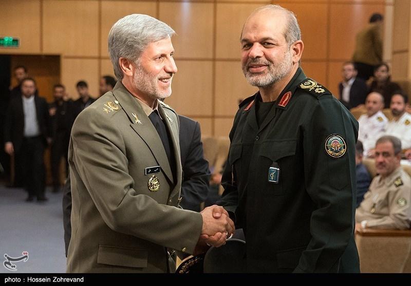 احمد وحیدی,وزارت دفاع