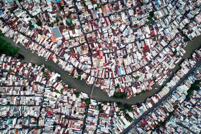 عکس   زاغه نشینان ویتنام در عکس روز نشنال جئوگرافیک