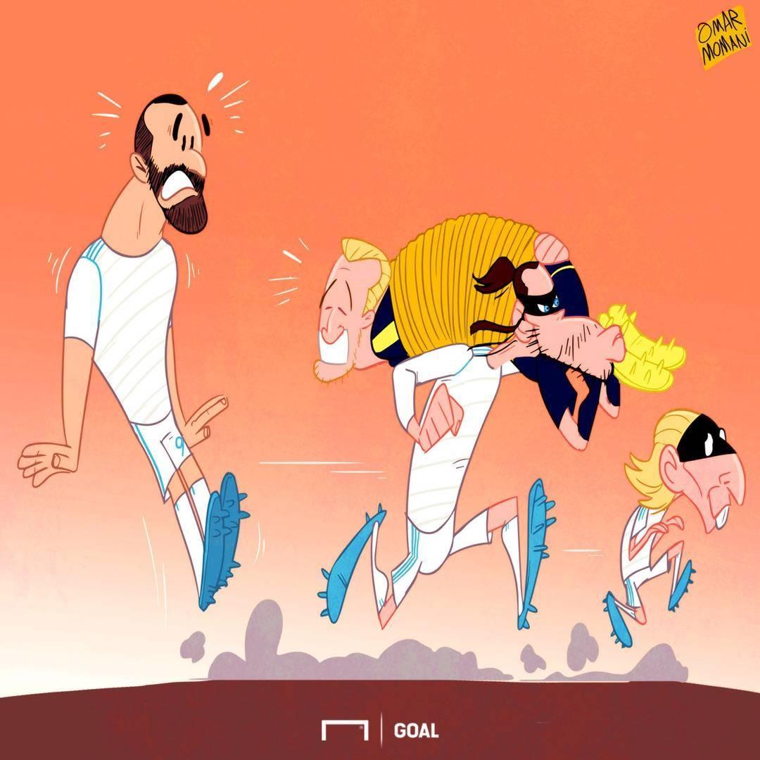 کاریکاتور,رئال مادرید