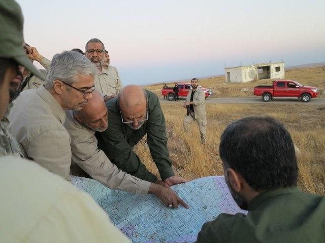 سرلشکر محمدحسین باقری,ایران و سوریه