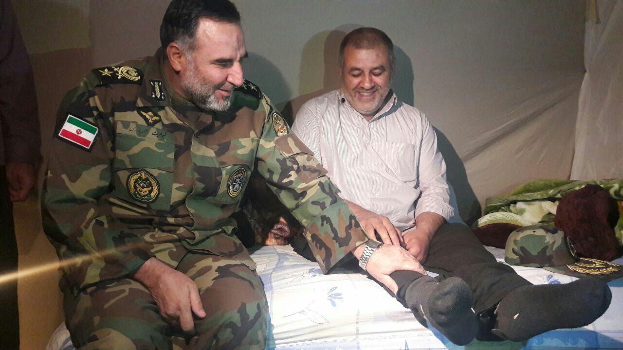 ارتش جمهوری اسلامی ایران,زلزله