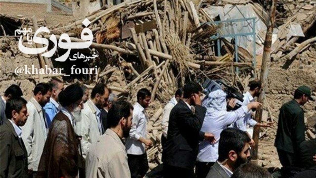 آیتالله خامنهای رهبر معظم انقلاب,زلزله