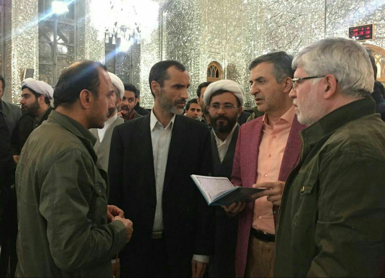 حمید رضا بقایی,محمود احمدی نژاد