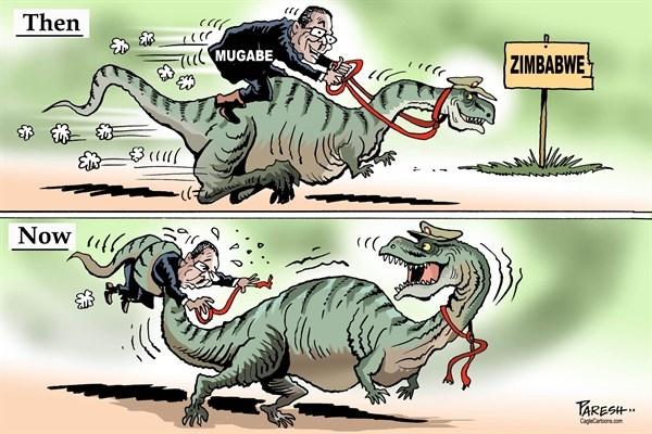 کاریکاتور,موگابه
