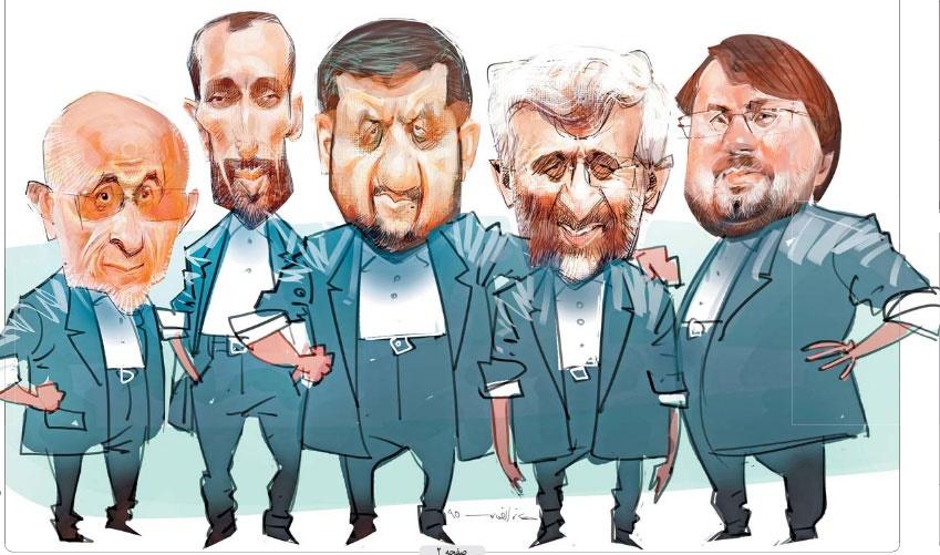 این هم لشکر رقبای روحانی! /کاریکاتور