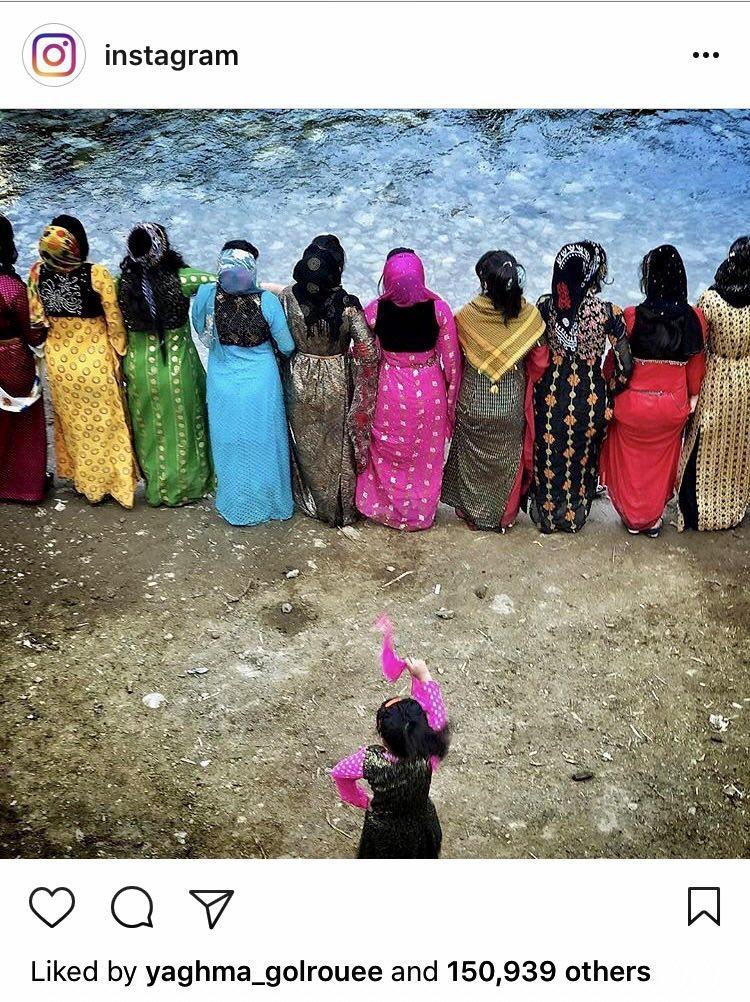 تبریک رسمی اینستاگرام به مناسبت عید نوروز با انتشار عکسی از زنان ایرانی