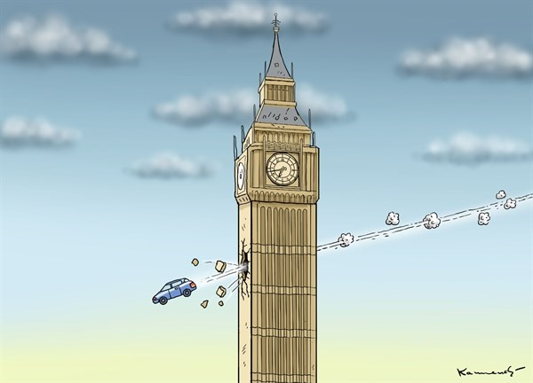 نمای دیده نشده از عملیات تروریستی در لندن!