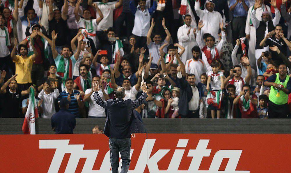 زیباترین تصویر بازی ایران و قطر