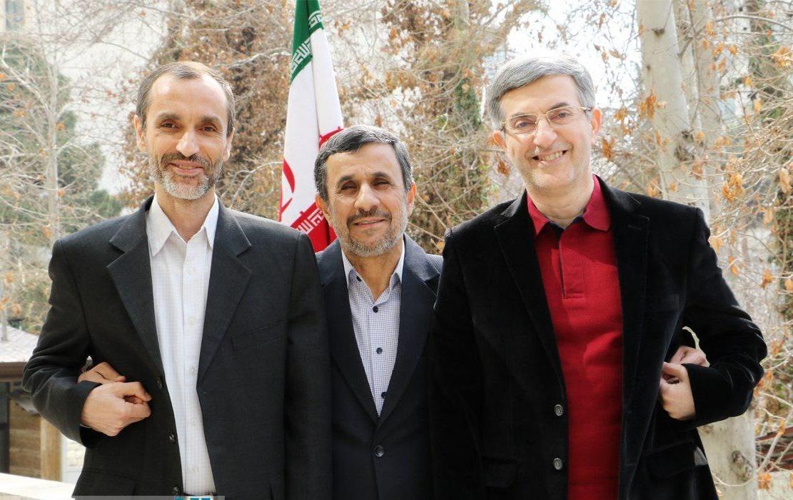 احمدی نژاد - مشایی - بقایی