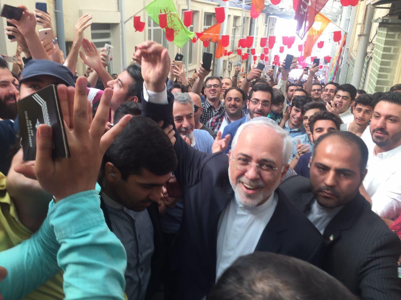 رای ظریف در انتخابات ریاست جمهوری