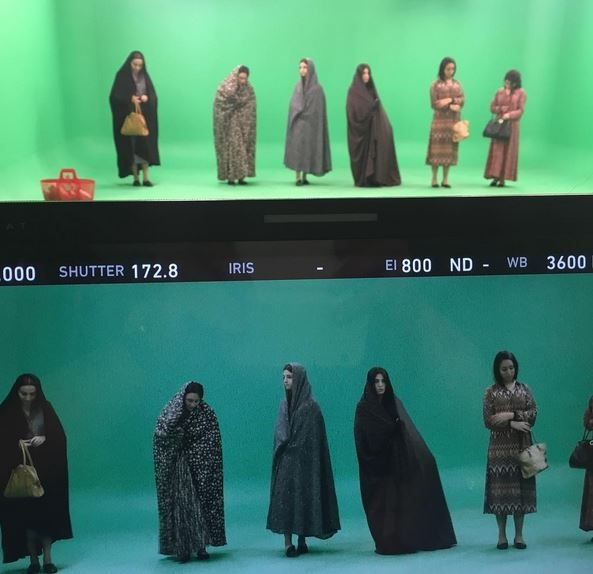 عکس بازیگران در پشت صحنه دختر ارمنی بیوگرافی جلیل سامان بازیگران سریال نفس