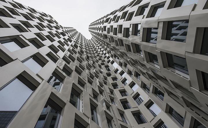 نمای ساختمان مدرن بهترین نمای ساختمان اخبار آلمان