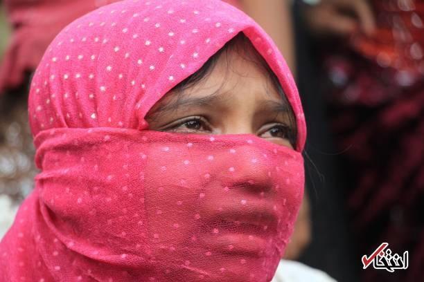دختر مسلمان روهینگیایی