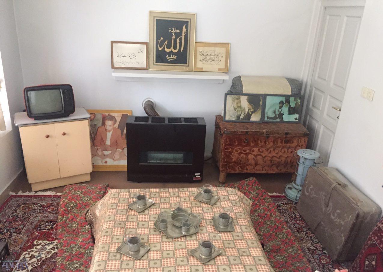 اتاق نشیمن خانه رجایی