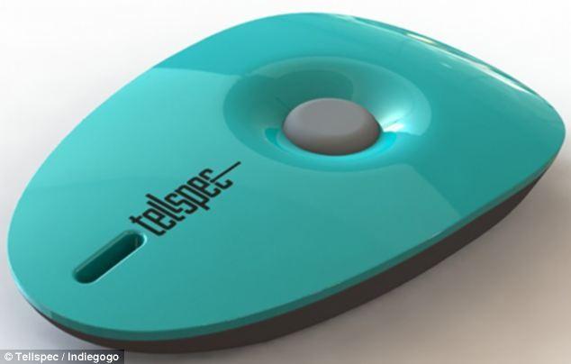 یک اسکنرکوچک به اندازه جاسوئیچی متصل به موبایل برای کنترل وزن