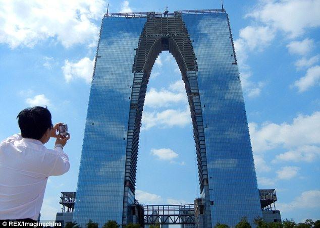 برج 300 متری در چین