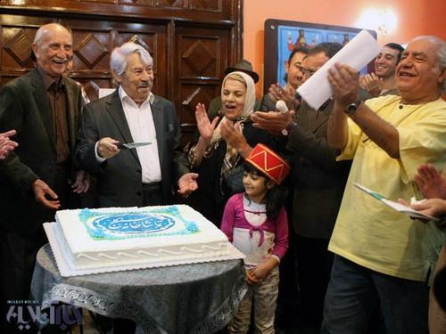 عکسهای یک جشن تولد با حضور داوود رشیدی، داریوش اسد زاده، اسماعیل خلج و ...