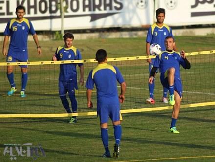 جلال حسینی بهترین بازیکن دیدار ایران - تایلند شد