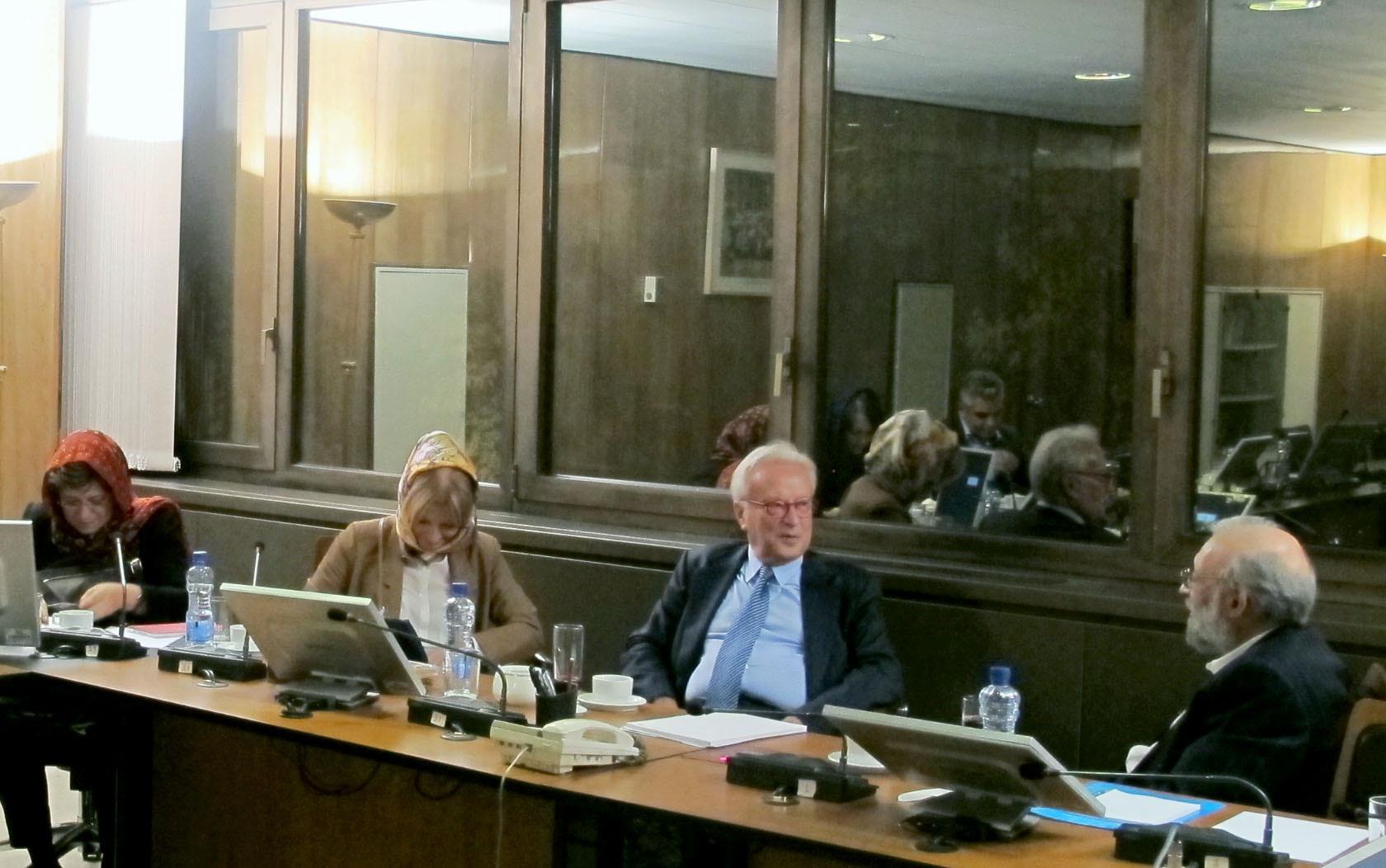 هیأت اروپایی در دیدار با جواد لاریجانی: تغییرات و پیشرفتهای ایران تبلیغاتی نبود و واقعیت داشت