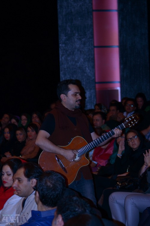 رضا یزدانی و پژمان جمشیدی در کنسرت هومن جاوید