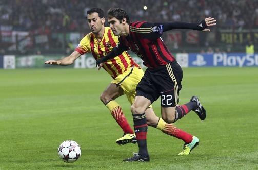 تساوی آث میلان و بارسلونا در سن سیرو/ شکست تلخ آرسنال مقابل دورتموند