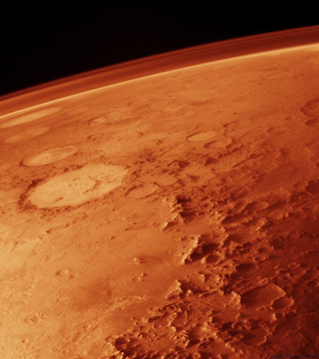 شبیه ترین جای زمین به مریخ کجاست؟