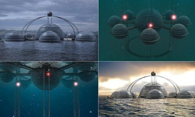 آیا دوست دارید کنار ماهی ها، در شهر زیر آب زندگی کنید؟ ببینید